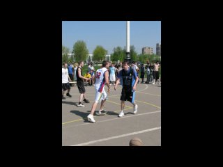 1-ый этап на Кубок Мэра города Одинцово по уличному баскетболу
