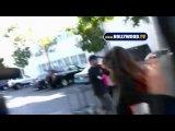 Dina And Ali Lohan Visit Lindsay Lohan In Jail.