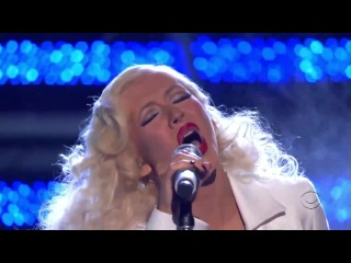 Christina Aguilera - This Is A Man's World (GRAMMY, Tribute to James Brown)