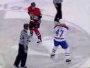 Самая зверская хоккейная драка: