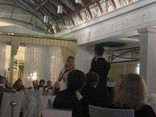 parole - свадьба Саши и Кати, поют жених с невестой:))