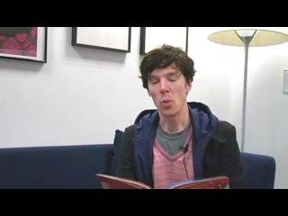 Benedict Cumberbatch reading a fairytale