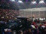 Armageddon 2000: Steve Austin vs Triple H vs The Rock vs Kurt Angle vs The Undertaker vs Rikishi (Hell In A Cell Match for WWE C