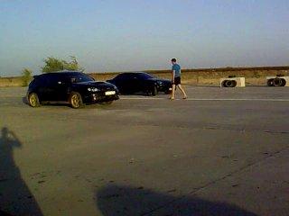 Субара WRX STi vs Mazda rx8