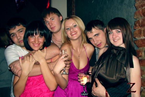 Вечеринка студентов после сессии