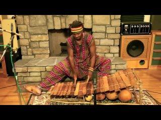 Dramane Kone - Balafon solo .... CRAZY African Magic!!