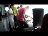 Rank1 Live in Toronto on a Boat Cruise playing Raneem - Equinox (Evgeny Bardyuzha Remix) (10-07-10)