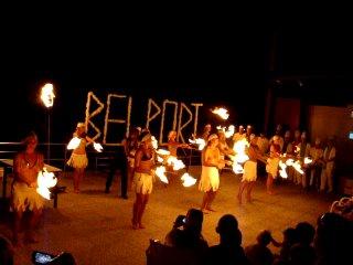 Турция. Отель Белпорт. Огненное шоу.
