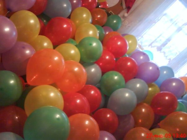 Фантазия воздушных шаров и