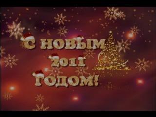 Новогодняя видео-открытка от