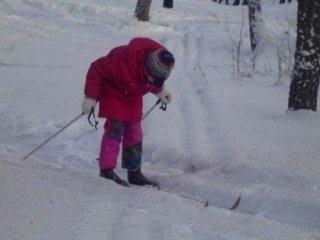 Я супир лыжница чё!!:)
