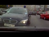 Водители заперли блатную машину с мигалкой! =)