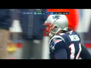 NFL 2010-2011: Miami Dolphins vs New England Patriots - Часть 1 (Week 17) 02.01.2011
