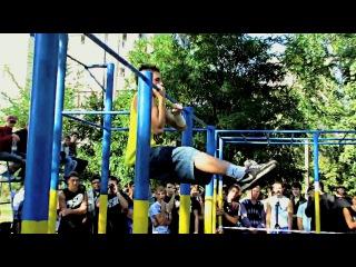 Street Workout Dnepropetrovsk(соревнования на турнике и брусьях