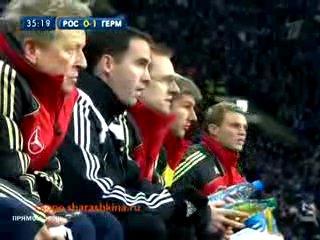 Отборочный матч Чм по Футболу (Россия Vs Германия)Прикол))))