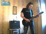 Сергей Табачников - Gibson LP Studio Black\Gold USA 1992.
