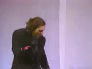 Corey Feldman sings and dances