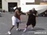 Kimbo уличный боец !! Бой голыми руками !!!