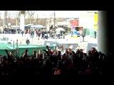 CORTEO ONDER BRUG AJAX VS PSV ULTRAS VAK 410 2010 BOBBY HAARMS