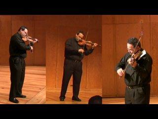 Yehonatan Berick - Johann Sebastian Bach - Violin sonata №2 in A minor - IV. Allegro