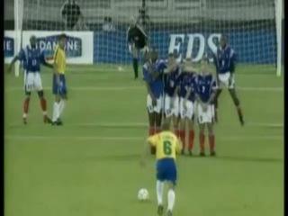 Роберто Карлос - Франция - Бразилия. Лучший гол в мире лучшего защитника
