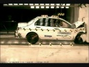 Crash Test 2006 Mitsubishi Lancer (Full Frontal Impact) NHTSA