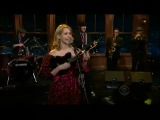 Nellie McKay live at Craig Ferguson Late Late Show - Carribean Time