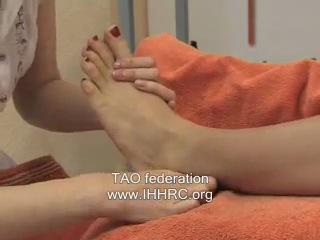 Тайский массаж стоп (фут массаж)