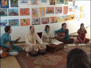 Sahaja Yoga Concert. India Music.SHANTI.LT. Riga 29.05.10