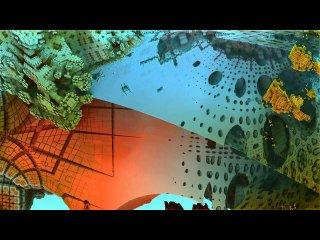 Ландшафты новых фрактальных гибридов : Планета 1221
