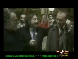 Интервью с Робертом Де Ниро на съемках фильма «Однажды в Америке»
