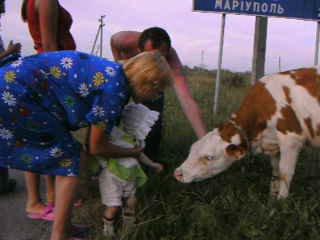 Матвеева Вика 1 годик ( на море.июль 2008 г.)