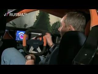 Marussia sportcar. First russian supercar