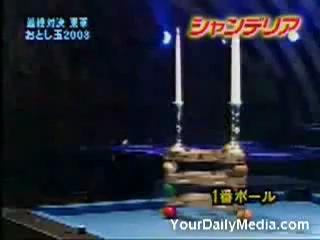 Чемпион мира по трюкам бильярда 2003 года