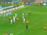 Отличный гол Ибрагимовича не помог Милану одержать победу Лечче 1-1 Милан