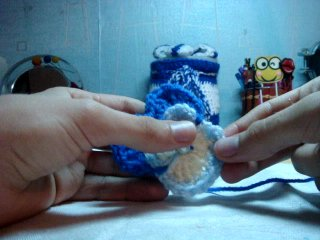 вязание крючком-Анютины глазки-4