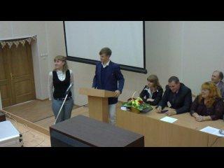 Сценки студентов СПИГ на Дне Знаний 2010