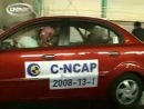 Crash Test 2008 Kia Rio  Pride (Full Frontal Impact) C-NCAP