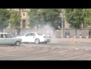 Nissan Skyline GT-R R34 VAZ 2101 Drifting Burnout