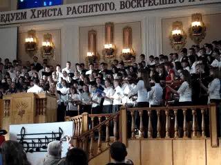Баптисты поют какую-то еврейскую песенку в восточном стиле