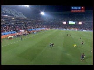 ЧМ-2010 / 1/4 финала / Парагвай-Испания / Россия1