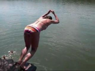 Мастер - Класс от чемпионки мира по Прыжкам в воду)