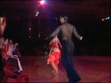 Латиноамериканский танец.Самба.Славик Крикливый и Анна Мельникова