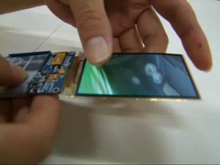 SuperAMOLED дисплей (такой же в Nokia n8)
