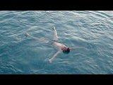 Средиземное море - прыжок с пирса