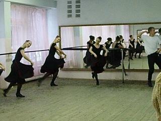 Станок. Народно-сценический танец.