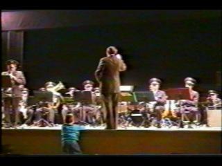Франция.Концертный зал им.Ива Монтана 2000г.Соло на саксофоне-Э.Смигельский