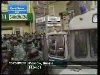 Владимир Высоцкий -  Баллада о влюбленных (Марш Несогласных - Москва)