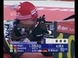 Биатлон. Чемпионат мира среди юниоров 2008. Девушки до 18 лет. Индивидуальная гонка. Евроспорт