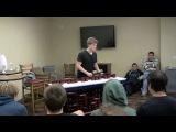 Kent Jenkins - игра на водопроводных трубах